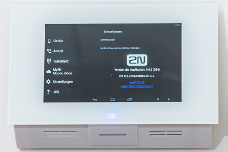 2N Video Sprechstelle Büro Kunsthaus 25 - Premium Büros