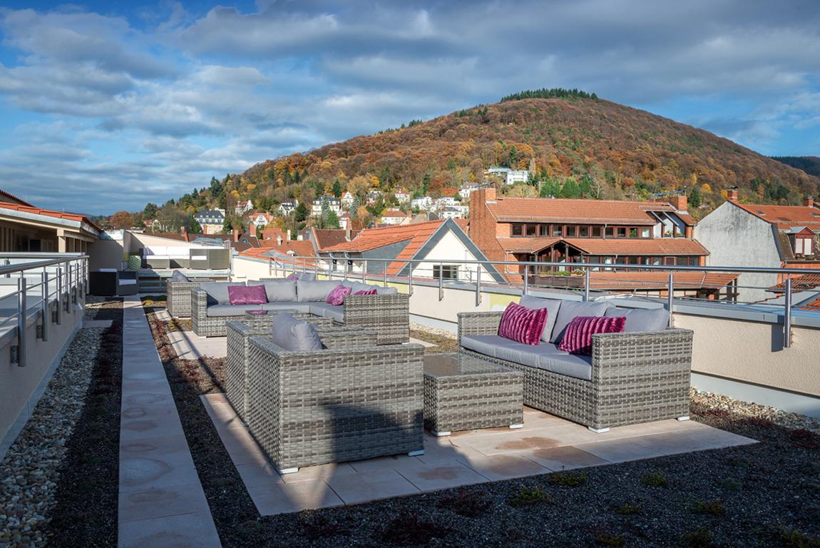 Dachterrasse mit Dachgarten Kunsthaus 25